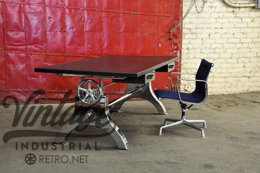 Custom Made Chrome Hure Crank Desk