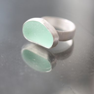 Custom Made Custom Sea Glass Ring