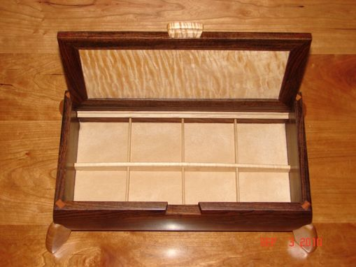 Custom Made Men's Jewelry Box