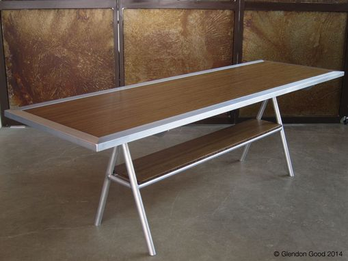 Custom Made Bamboo & Aluminum Conference Table
