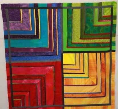 Custom Made Color Block I And Ii Modern Wall-Hangings