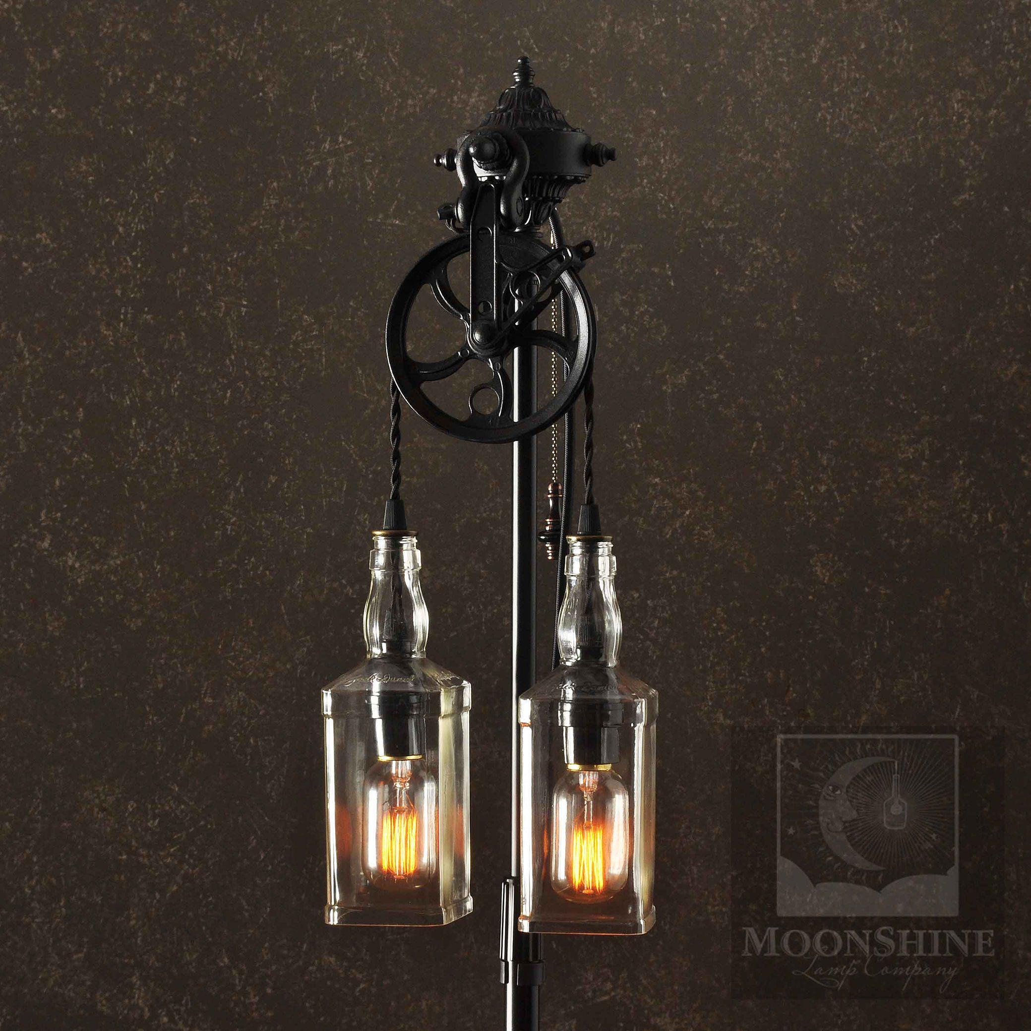 Custom Made The Gatsby Vintage Style Floor Lamp