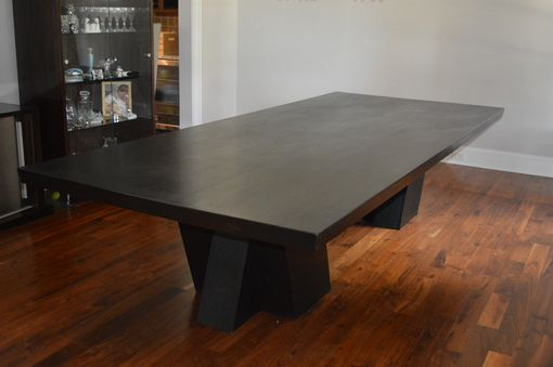 Custom Made Stepping Forward - Cross Legged Dining Table