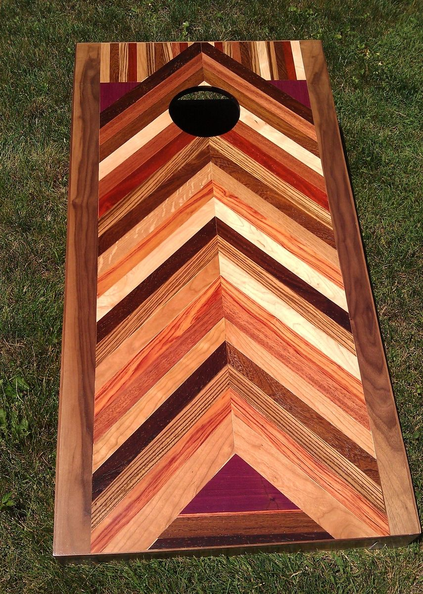 Handmade Custom Bag Boards Exotic Wood And More By