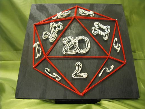 Custom Made 20 Sided Di