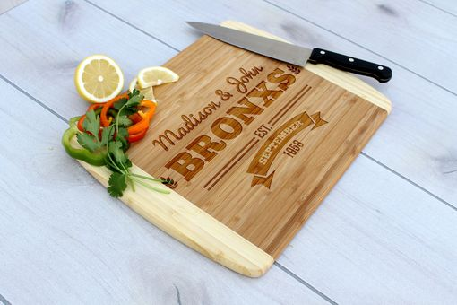 Custom Made Personalized Cutting Board, Engraved Cutting Board, Custom Wedding Gift – Cb-Bam-Bronx