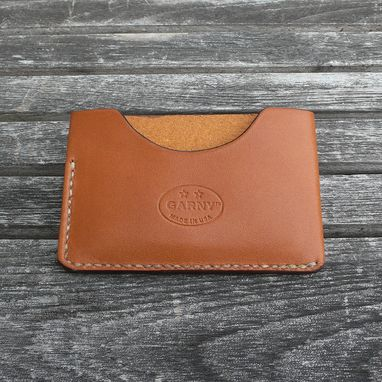 Custom Made Minimalist Leather Wallet