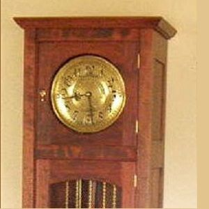 Custom Made Craftsman's Style Grandfather Clock
