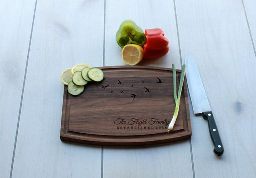 Custom Made Personalized Cutting Board, Engraved Cutting Board, Custom Wedding Gift – Cba-Wal-Flight Family