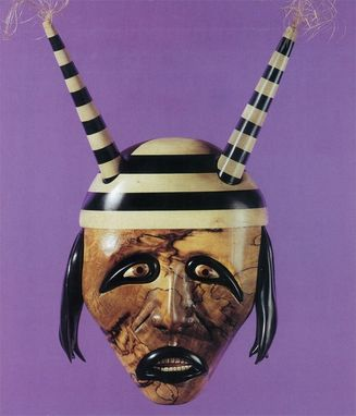 Custom Made Hopi Clown Mask