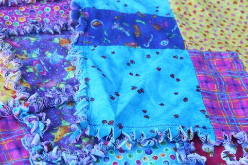 Custom Made Quilt Rag Style