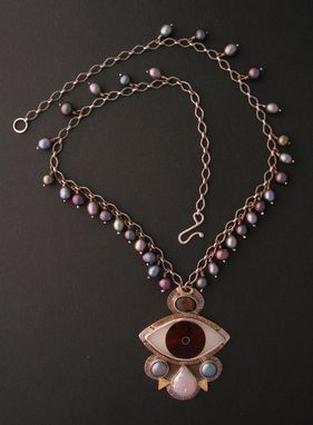 Custom Made Evil Eye Neclace - Tears Of Joy