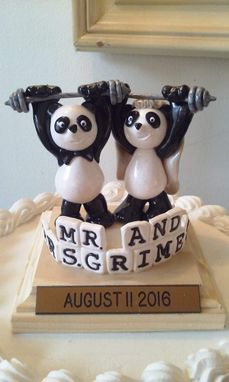 Custom Made Ivy Creations Baby Shower Cake Toppers