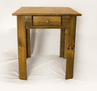 Custom Made Stained Side Table