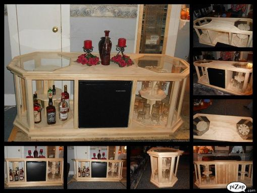 Custom Made Mini Bar Coffee Table