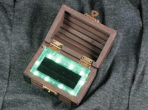 Custom Made Zelda Inspired Treasure Chest Ring Box