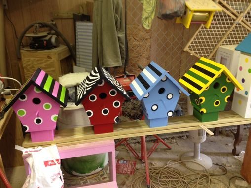 Custom Made Large Decorative Birdhouses