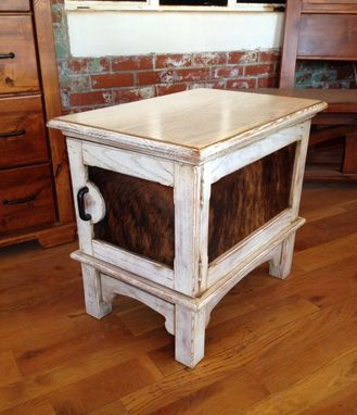 Custom Made Blackwater End Table