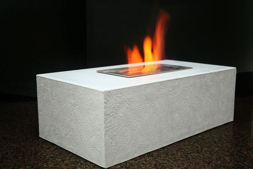 Custom Made Concrete Table Top Fire Box