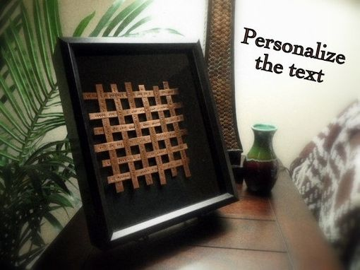 Custom Made Woven Copper/Aluminum/Tin Art