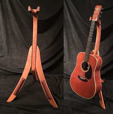 Custom Made Cherry Guitar Stand
