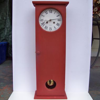 Custom Made Coffin Clock