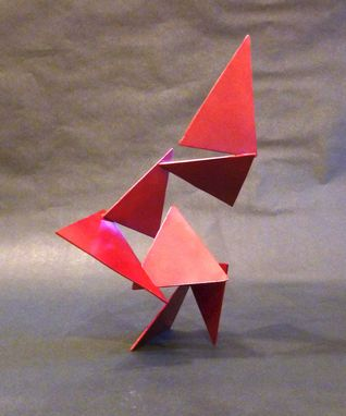Custom Made Triangle Abstract Scultpure