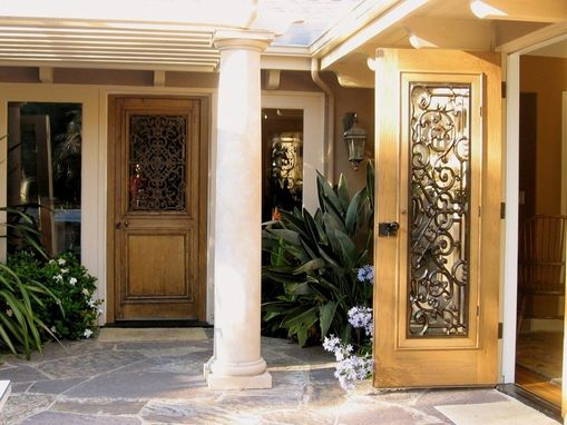 Custom Made Wooden -Imitation Iron- Side Door