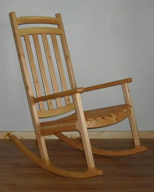 Custom Made All Season Porch Rocker (Fir)