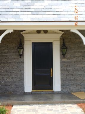 Custom Made Farmhouse Entry