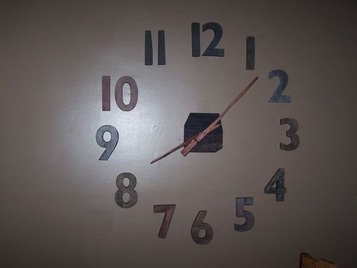 Custom Made Large Wall Clock