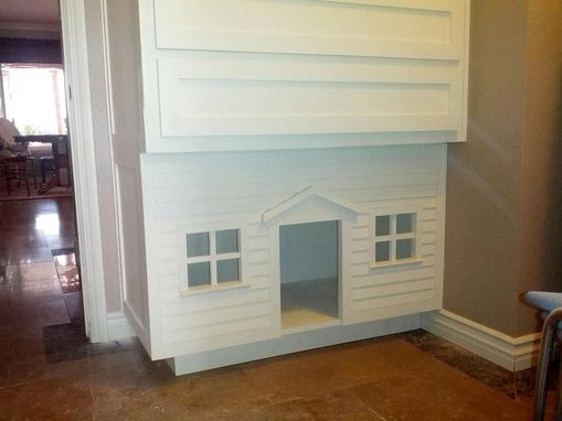 Custom Made Laundry Room Linen Closet/Dog House