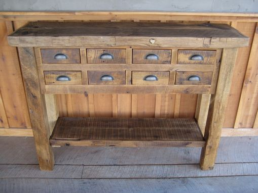Custom Made Reclaimed Chestnut Islands/Buffets