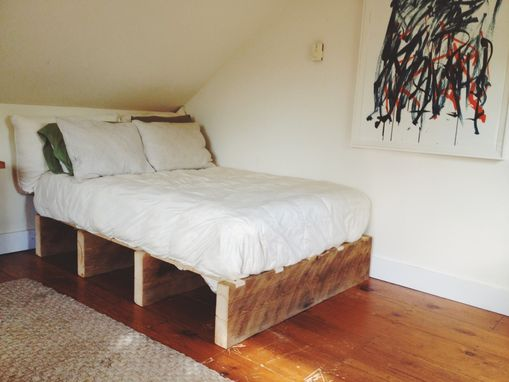 Custom Made Connecticut Barn Beam Bed