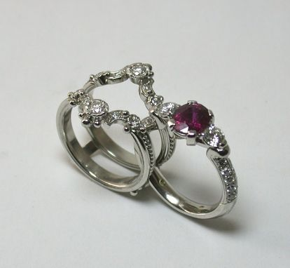 Custom Made Victorian Ruby Suite....