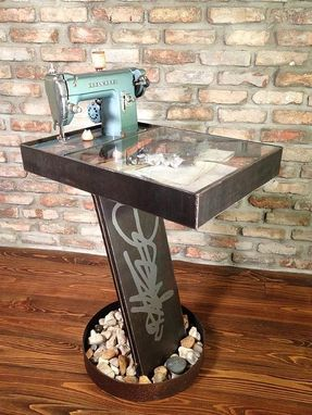 Custom Made Rock One Table