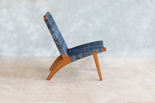 Custom Made Mid-Century Modern Lounge Chair