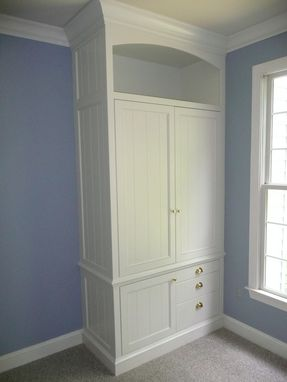 Custom Made Home Office And Storage