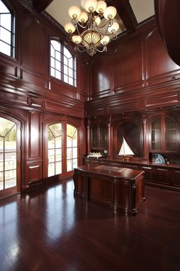 Custom Made Mahogany Home Office
