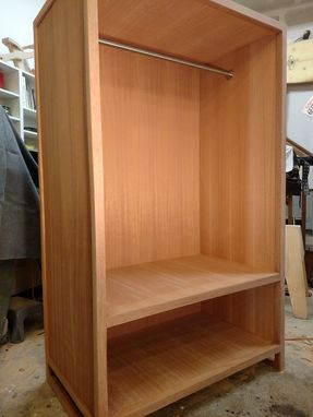 Custom Made Mahogany Wardrobe