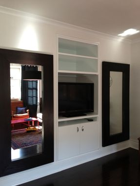 Custom Made Custom Built-In Shelves/Entertainment Center