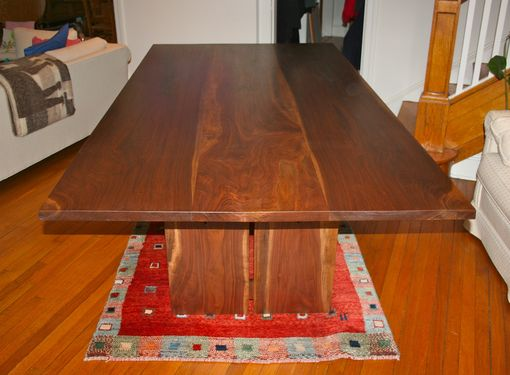 Custom Made Large Walnut Dining Table