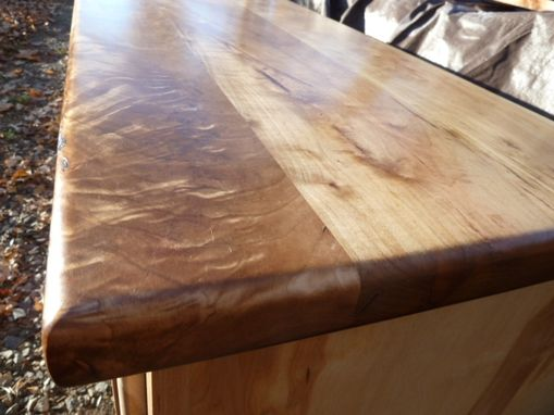 Custom Made Custom Solid Hardwood Counter Top