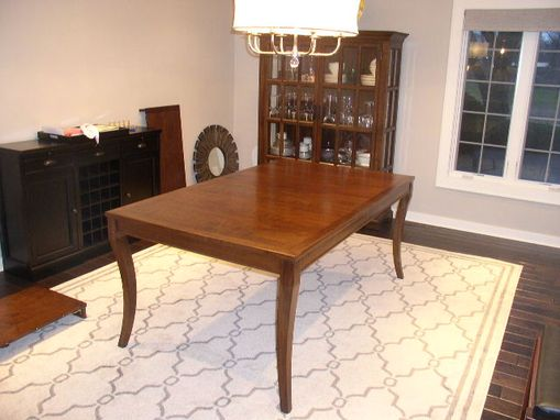 Custom Made Dining Table And Buffet