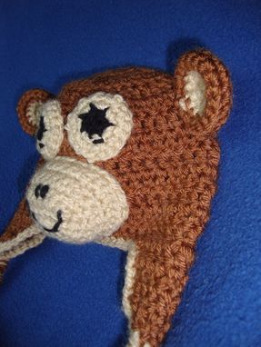 Custom Made Monkey Baby Hat