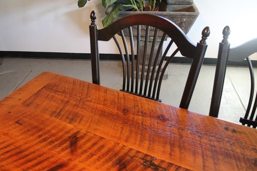 Custom Made Very Rustic Farmhouse Table From Reclaimed Wood