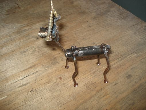 Custom Made Metal Reindeer