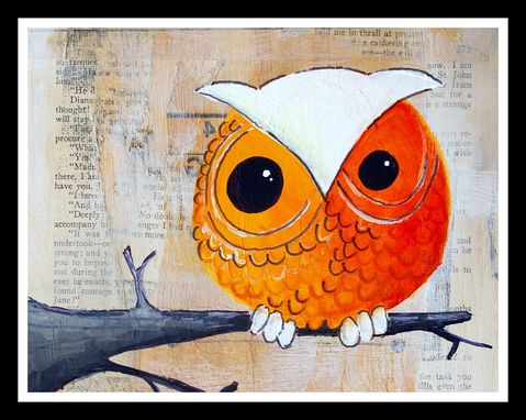 Custom Made Owl Custom Drawing
