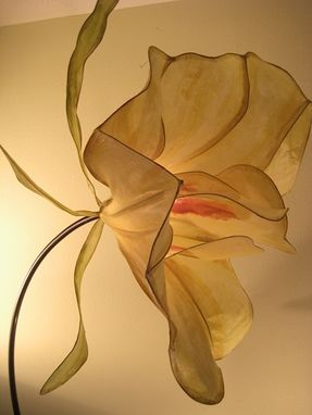 Custom Made Nasturtium Floor Lamp