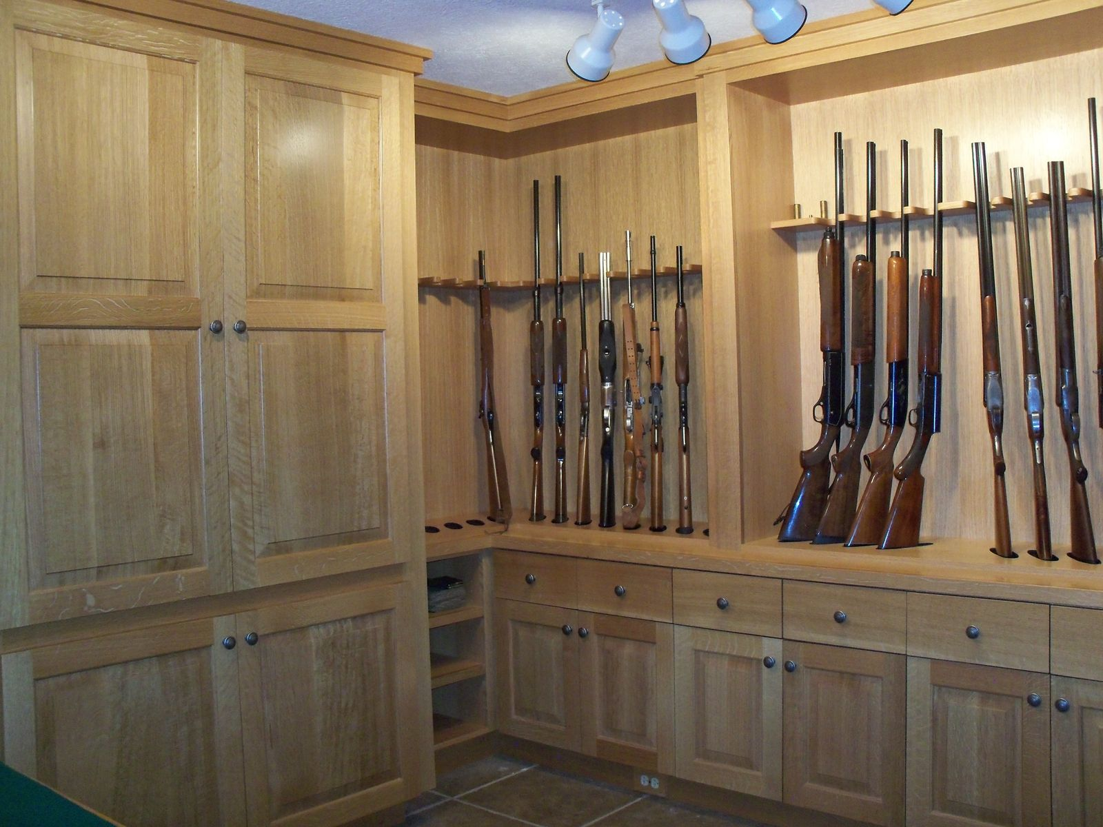 custom made gun room - Custom Rooms